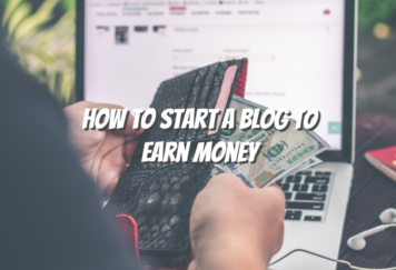 How To Start A Blog To Earn Money - Tech Strange