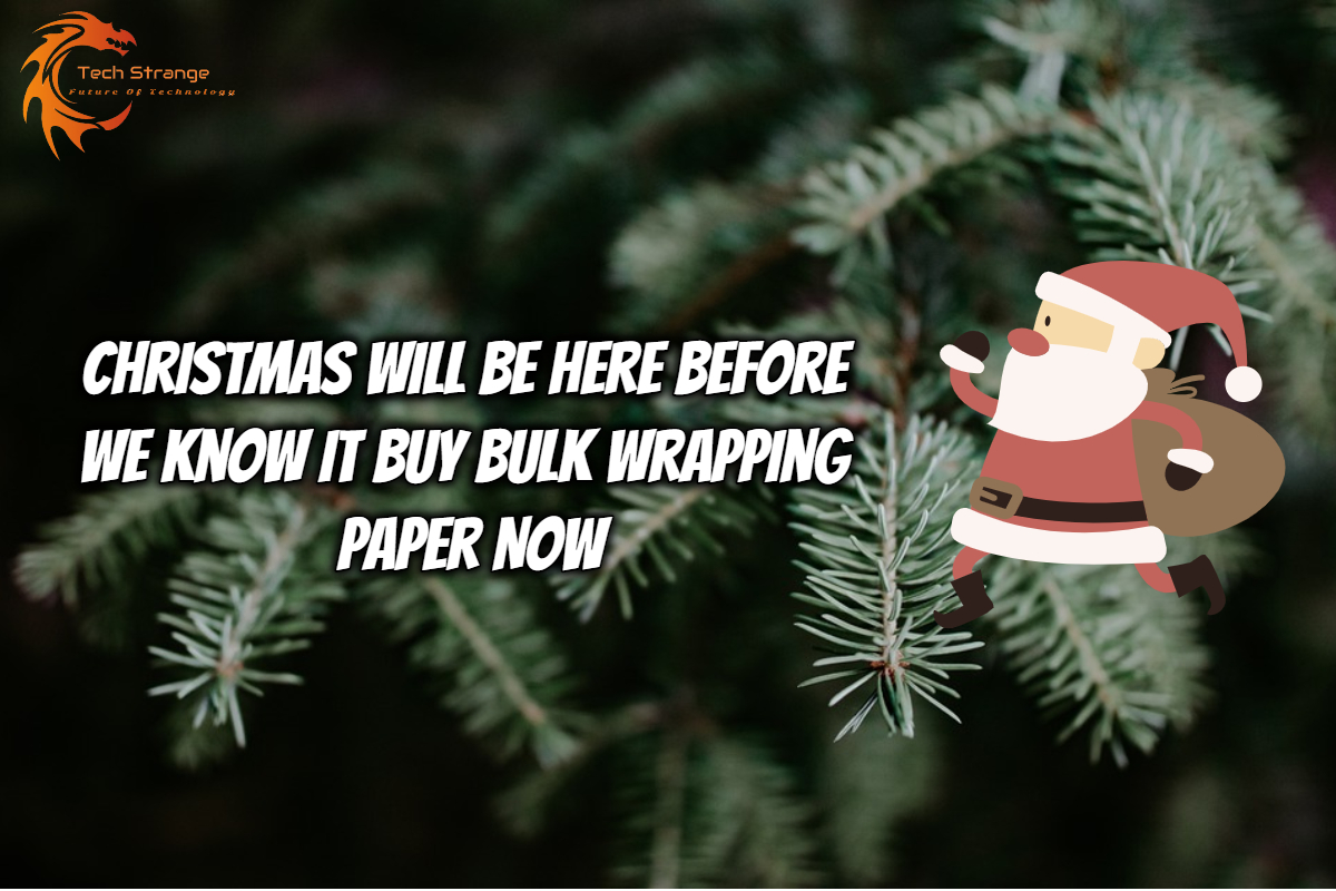 Christmas Will Be Here Before We Know It Buy Bulk Wrapping Paper Now