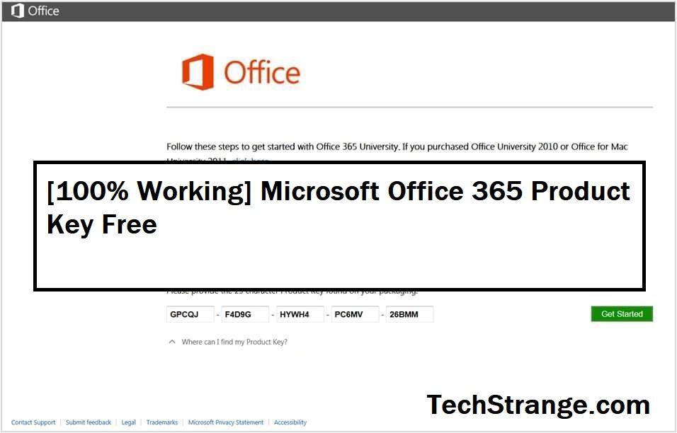 [100% Working] Microsoft Office 365 Product Key Free