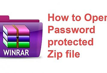 How To Unlock Password Protected ZIP File