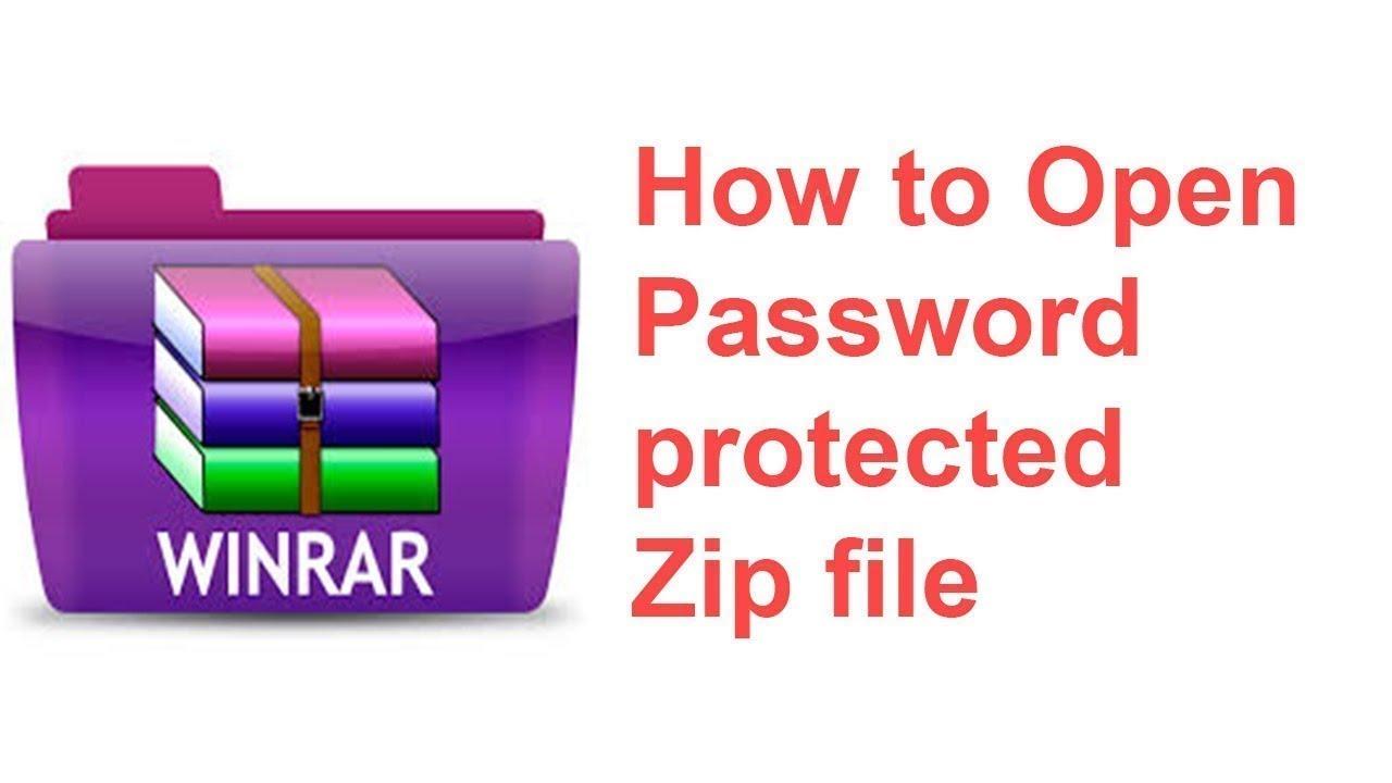 How To Unlock Password Protected ZIP File