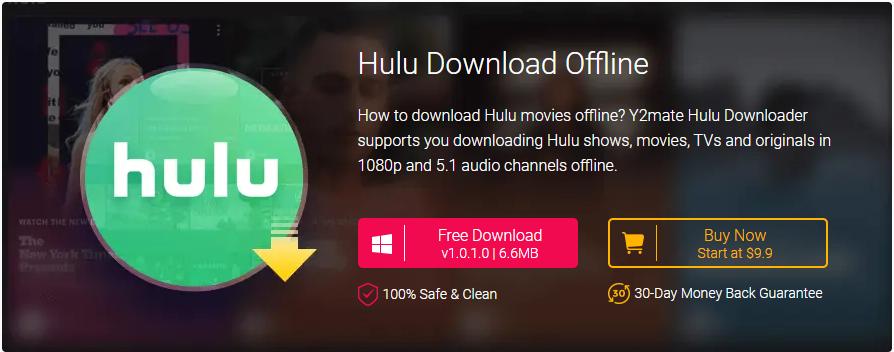 Y2Mate Hulu downloader